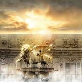 """Постер, картина, фотообои """"Ворота небес"""""""