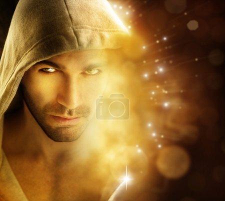 Man of light