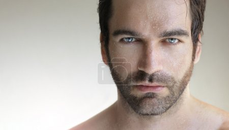 Photo for Portrait of a young very handsome man up close - Royalty Free Image