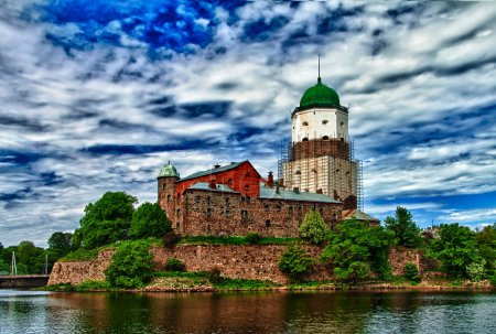 Wyborg Castle (HDR photo)