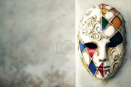 Photo pour Beau masque vénitien élégant - image libre de droit