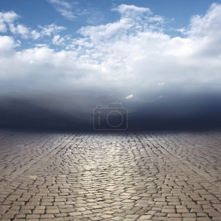 Beautiful surreal abstract landscape
