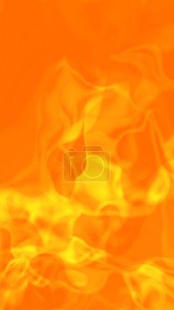 Photo pour Fond abstrait flammes de feu chaud. rendu 3D. - image libre de droit