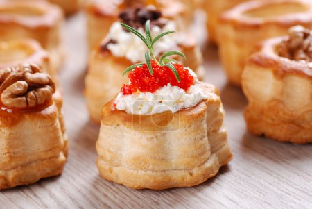 Vol au vent stuffed