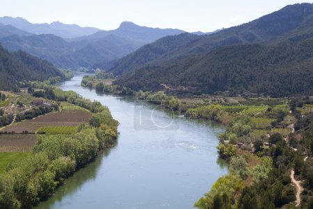 River and Mountains