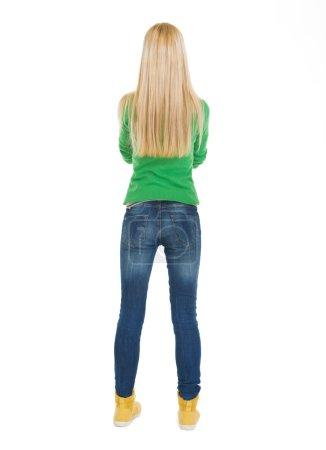 Student teenage girl.