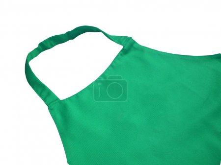Photo for Green kitchen apron - Royalty Free Image