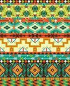 Aztec geometric seamless pattern