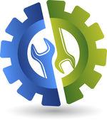 Wheel spanner logo