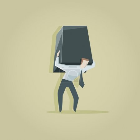 The burden of a businessman