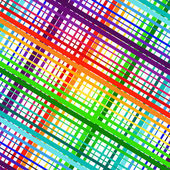 Colored stripes abstract vector illustration