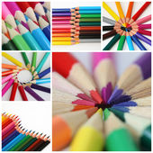 Színes ceruzák háttér