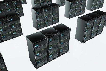 CPU Server Unit Room