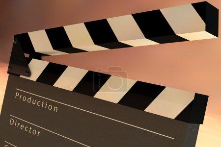 Film Slate Clapper