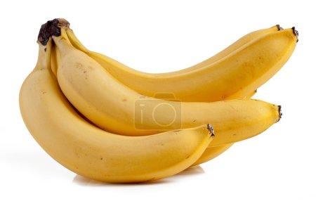 Foto de Fruta bananera aislada en el fondo blanco. - Imagen libre de derechos