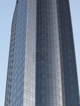 Photo for High city building with a glass facade - Royalty Free Image