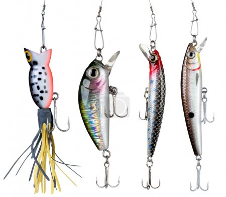 Fishing baits.