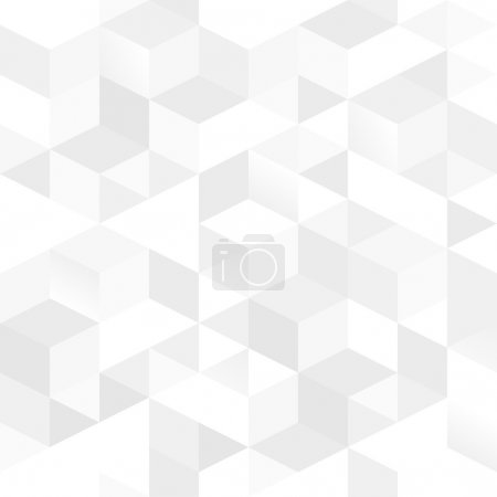 Illustration for Vector seamless pattern of simple geometrical shapes - Royalty Free Image