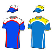 Sportovní barvu trička