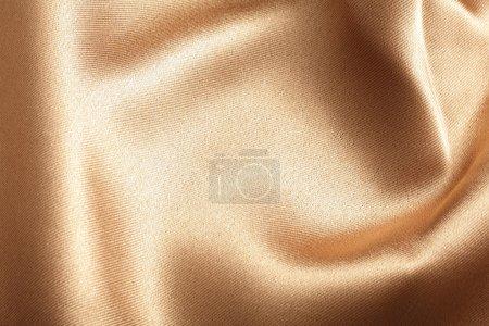 Photo pour Texture de soie doré idéal pour fond - image libre de droit