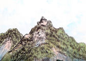 Tradiční Čínská malba, krajina