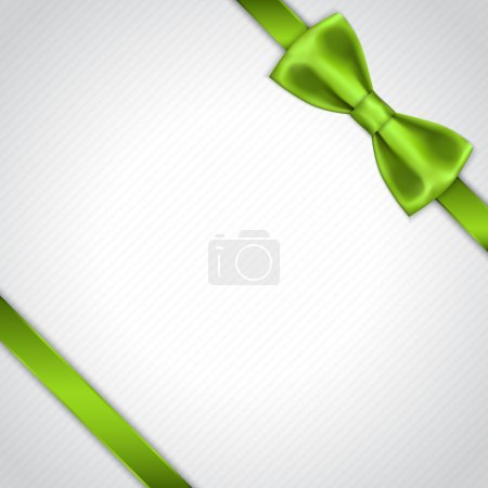 Green Bow background