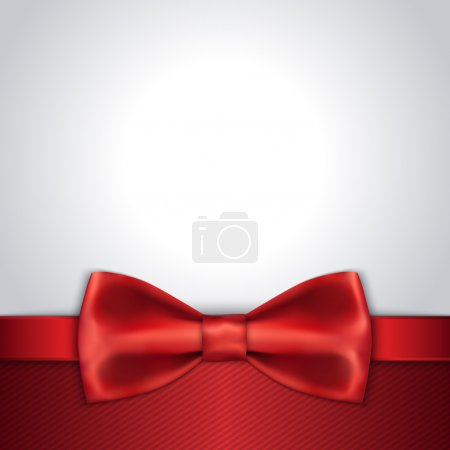 Red Bow background