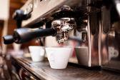 """Постер, картина, фотообои """"машина кофе эспрессо, кофе в паб, Бар, Ресторан"""""""