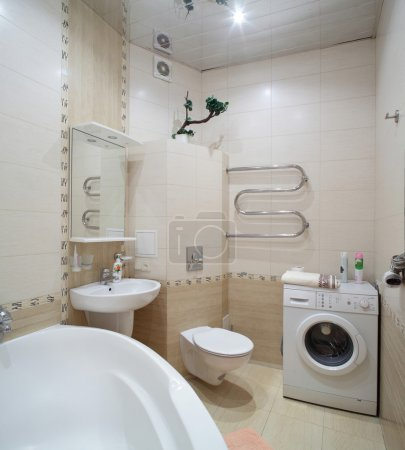Photo for Luxury and very clean toilet in european style - Royalty Free Image
