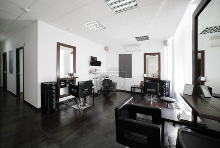 Photo for Brand new and very clean european hair salon - Royalty Free Image