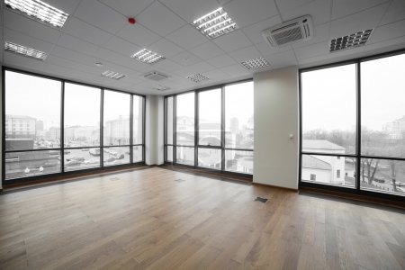 Photo for Stylish and brand new interior of modern office - Royalty Free Image
