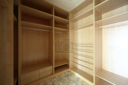 Photo for Beautiful and modern interior of bright cloakroom - Royalty Free Image