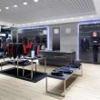 Luxury and fashionable brand new interior of cloth...