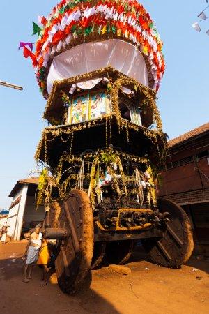 Low Angle Large Ratha Chariot Gokarna Full