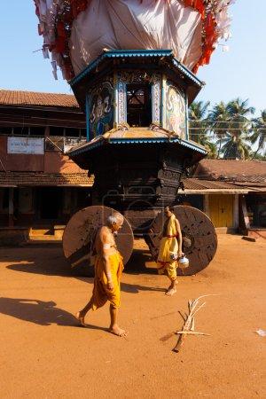 Small Ratha Chariot Brahmin Walking