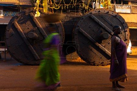 Big Ratha Chariot Wheels Women Gokarna