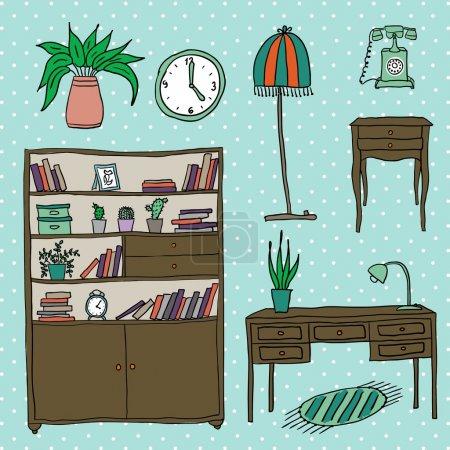 Furniture - Set of design elements