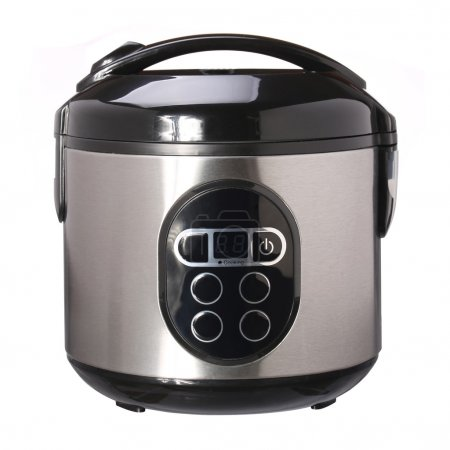 Photo for Multi Cooker isolated on white background - Royalty Free Image