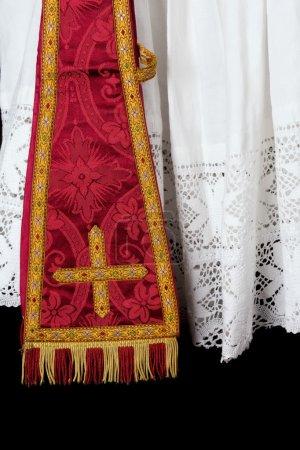Priest maniple and surplice