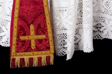 Vestment closeup
