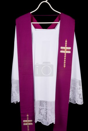 Priest surplice