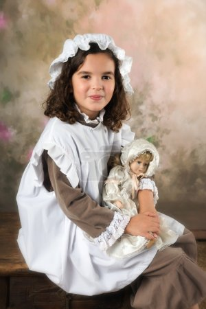 Sweet victorian girl