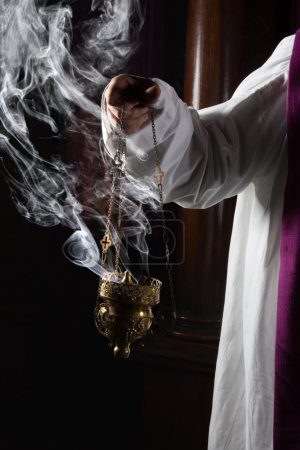Incense burning in church