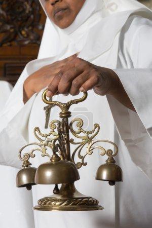 Church bells during mass