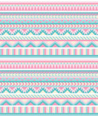 Seamless aztec pattern in pastel tints