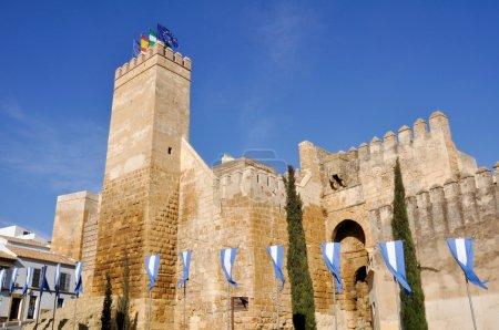 Seville gate alcazar, Carmona, Seville (Spain)