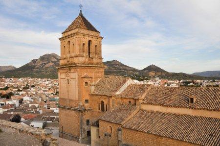 Photo pour Église Sainte-Marie-Majeure, Alcaudete, Jaen (Espagne) ) - image libre de droit