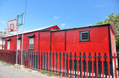 Famous Red Houses of Ponce (Puerto Rico)