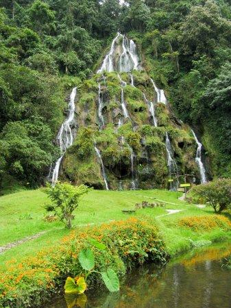 Waterfalls at Santa Rosa de Cabal, Colombia