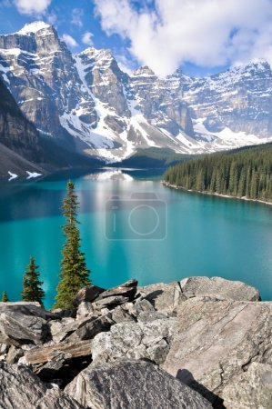 Photo for Moraine Lake, Rocky Mountains (Canada) - Royalty Free Image
